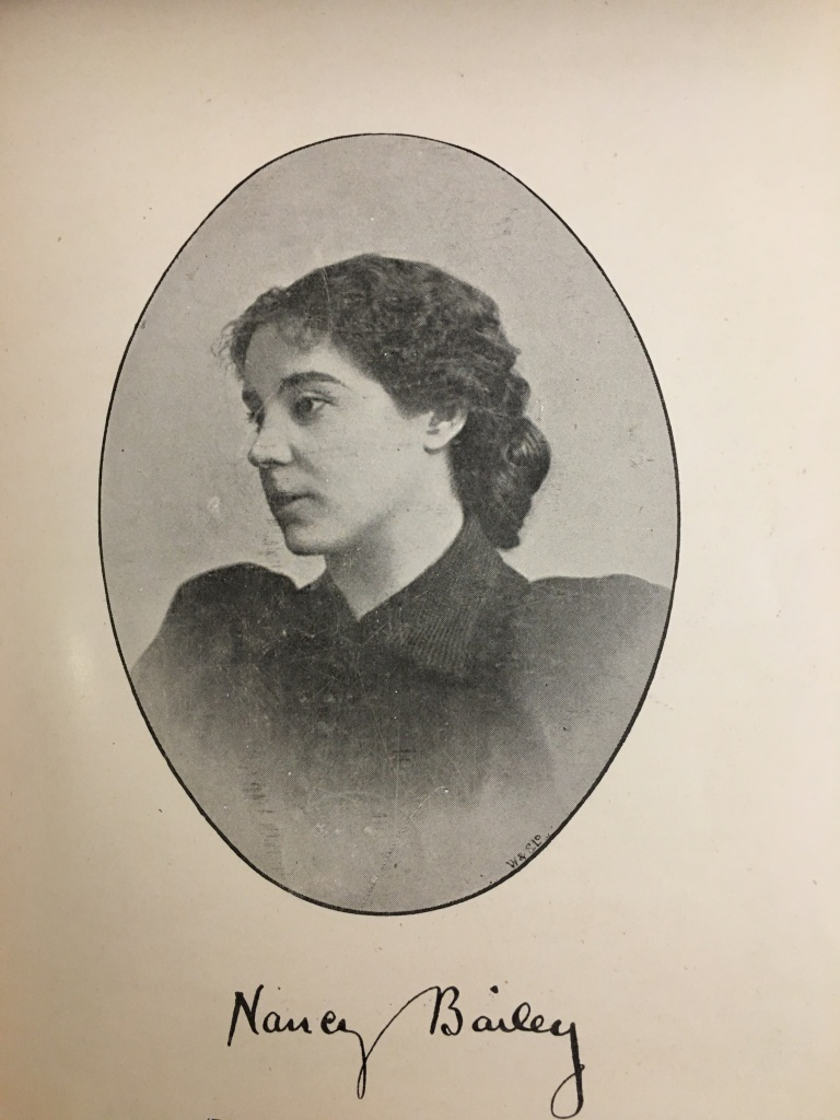 Nancy Bailey (1860-1913) set up her own indexing business