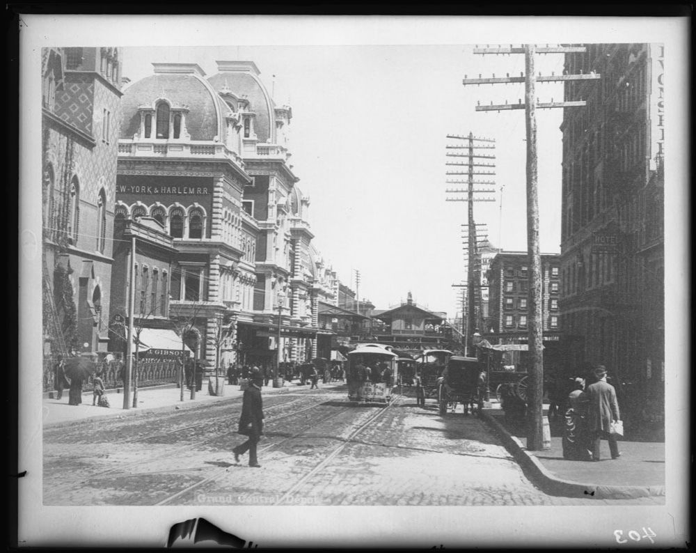 This image has an empty alt attribute; its file name is 42nd-street-looking-east-from-madison-avenue-showing-grand-central-station-new-york-city-copy-negative-after-original-photograph-by-an-unknown-photographer-circa-1880s.-1-1.jpg