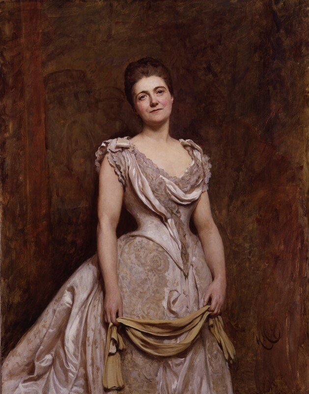 Emilia Francis Pattison, later Lady Dilke, friend and supporter of Emma Paterson