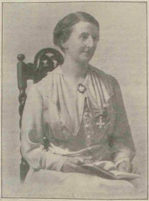 Laura Annie Willson (1877-1942).  Suffragette, engineer, house builder.