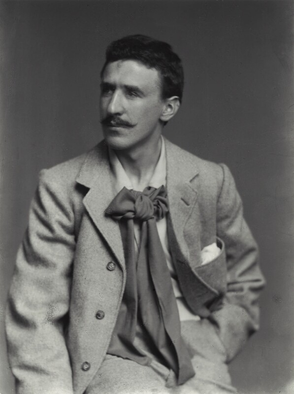 Charles Rennie Mackintosh by James Craig Annan, taken 1893.