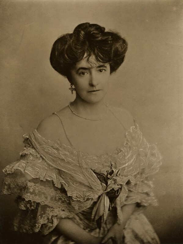 Lucy Duff Gordon, founder of the fashion house 'Lucile'
