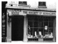 The first Culpeper shop, opened on Baker Street in 1927.