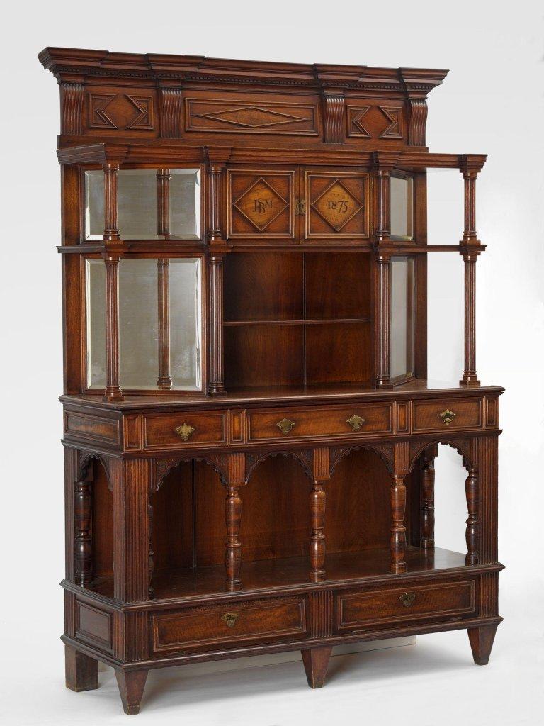 Cabinet made by Rhoda Garrett and Agnes Garrett (1875)
