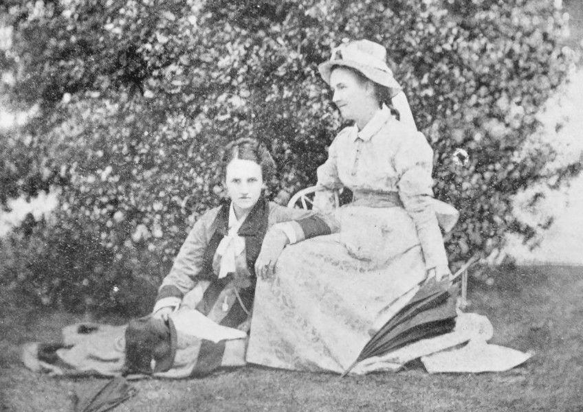 Rhoda Garrett and Agnes Garrett