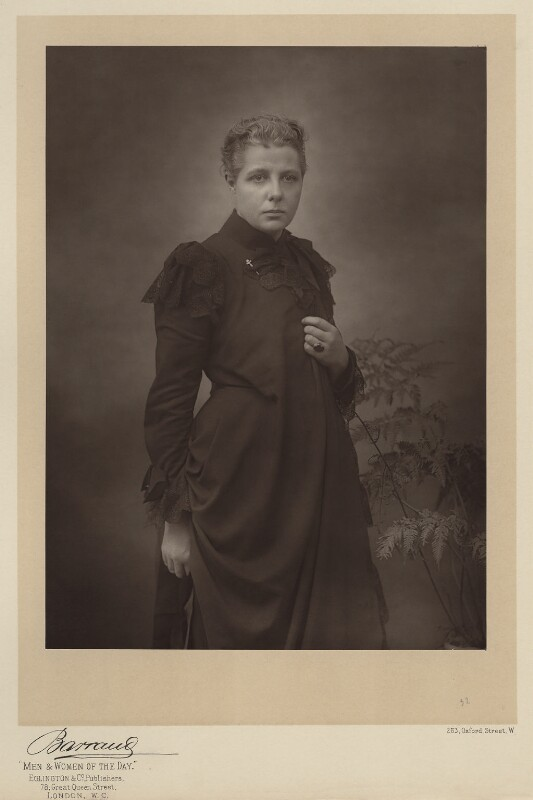 Annie Besant (1847-1933), feminist, activist and later Theosophist