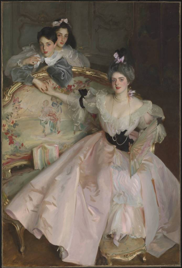 Mrs Carl Meyer and her Children by John Singer Sargent (1896). Adele Meyer was involved in the suffrage movement and supported the Women's Tax Resistance League.