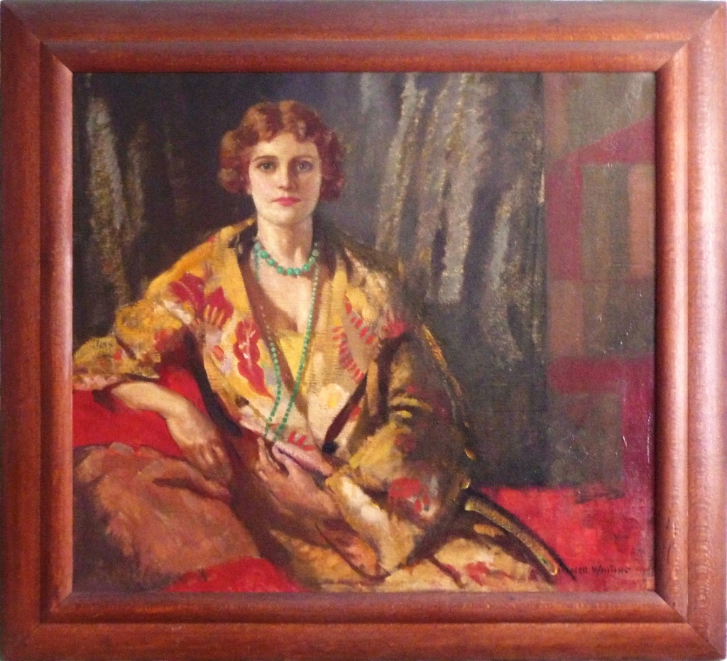 Portrait of Betty Joel by Frederic Whiting, November 1929
